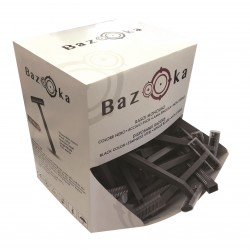 Black Single Blade Razors BAZOOKA - 100pcs. Bazooka